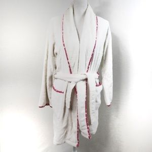 T584 PINK Victoria's Secret Terry Cloth Robe XS